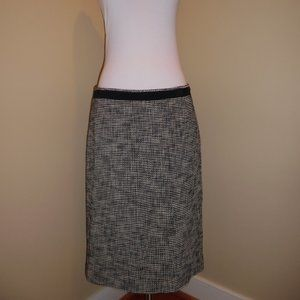 Max Mara Nave Blue Wear to Work Pencil Skirt 6 M